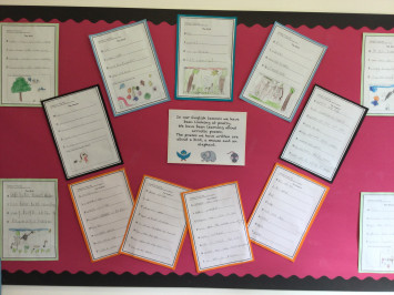 Poetry in Class 1B