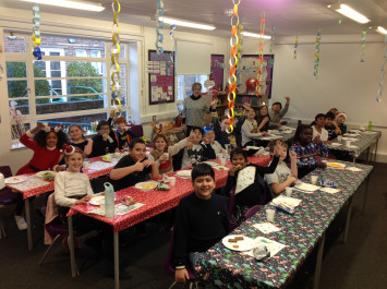 Party Time in 5J!