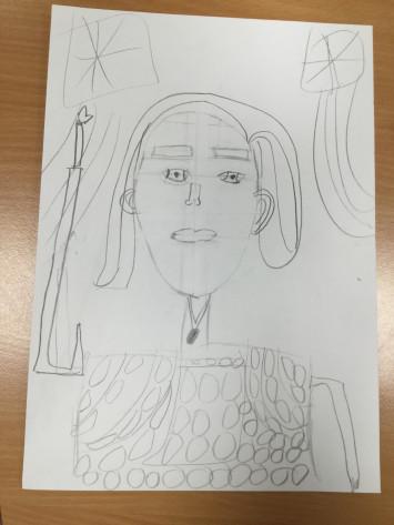 Drawing in 2V