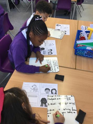 Class 3B become Maths Detectives