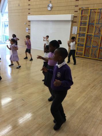 Caribbean Dancing in 1B