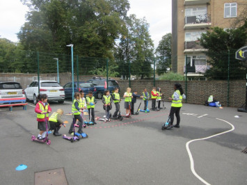 Year 2 Scooter Training