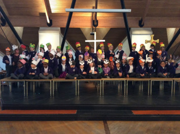 Reception Easter Performance A Hit!