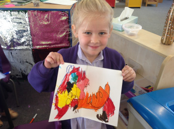 Drawing and Writing in Nursery