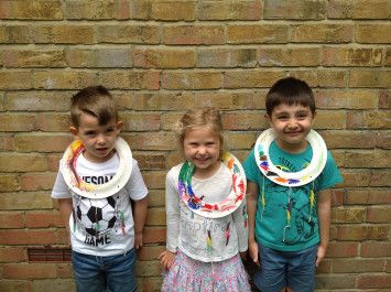 Nursery Make Maasai Necklaces