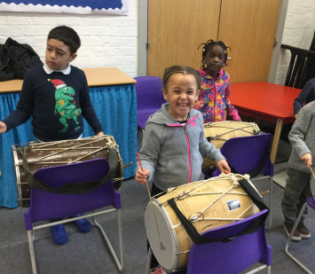 Indian Drumming in 1S