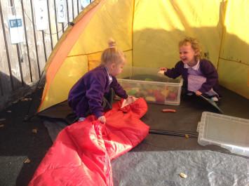 Nursery go Camping