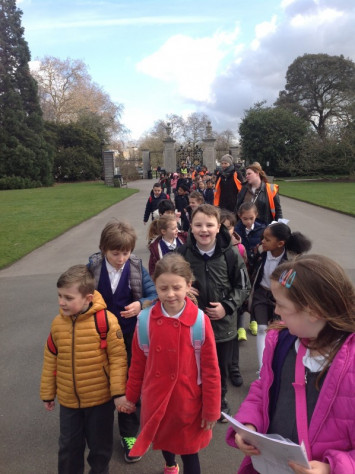 Year 2 Trip to Kew Gardens