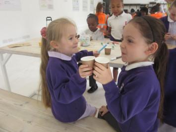 Tea school at teapigs