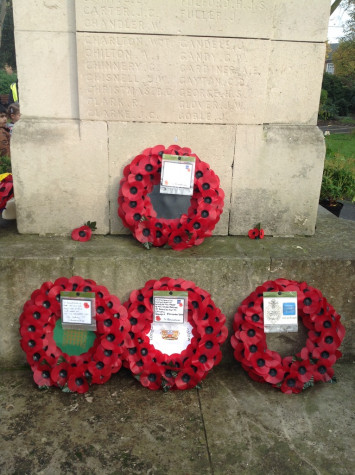 RL celebrate Remembrance Day