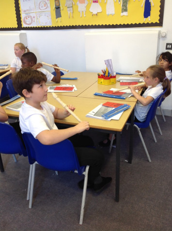 Recorder lessons in year 4