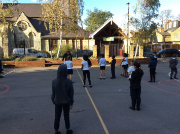 Tennis in Year 4