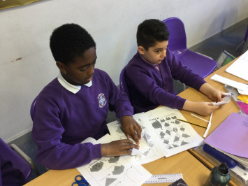 Origami in Year 4