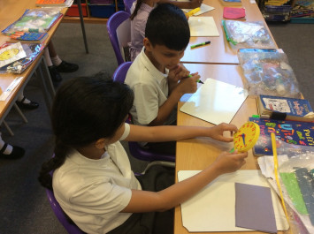 Telling the time in class 4