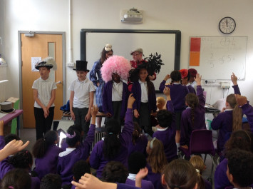 Hats in Year 4