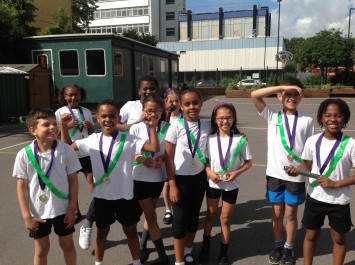 Sports Day in Year 4