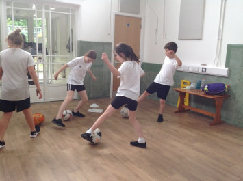 Year 5 PE sessions