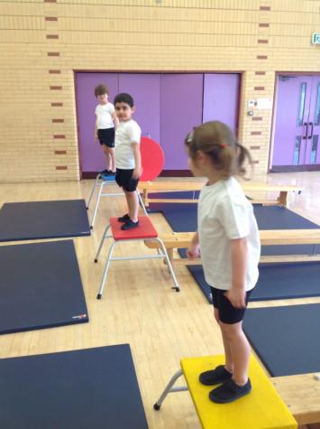 RB start gymnastics