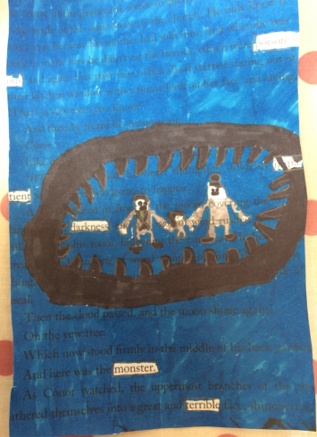 Blackout Poetry in Year 6