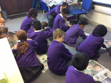 4L learn about recounts by looking at the news