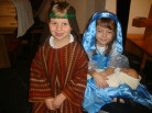 Year 1 Nativity Retells the Story of the Birth of Jesus the Baby King