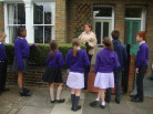Year Six are buzzing after visit to Hen Corner