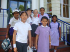 Year Five Pupils hone their debating skills at a Young Thinkers Workshop