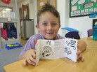 Year 3 children write their own books