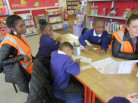 Pupil Premium Trip to the library on 18th May 2016