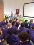 Rev Simpson visit to Class 4