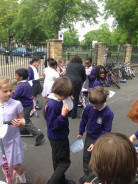 Class 3 being 'Wise on Wheels'