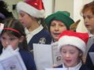 School Choir Sing to Residents of Lambert Lodge
