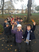 Reception W Autumn Walk