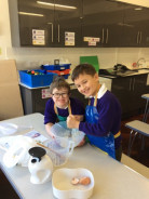 Pancakes in Year 5!